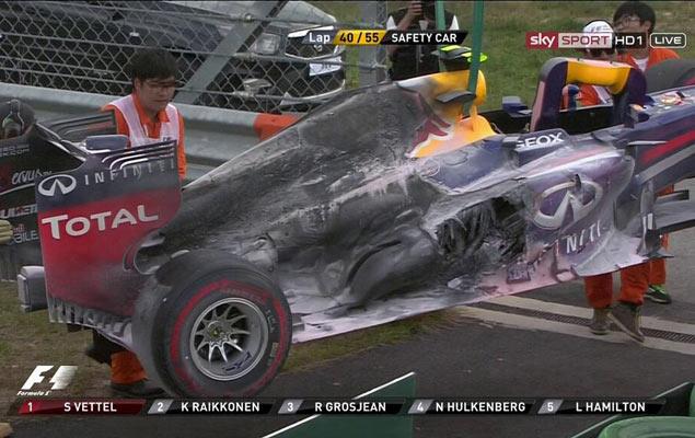 Онлайн-трансляция четырнадцатого этапа Формулы-1 2013 года. Фото 1