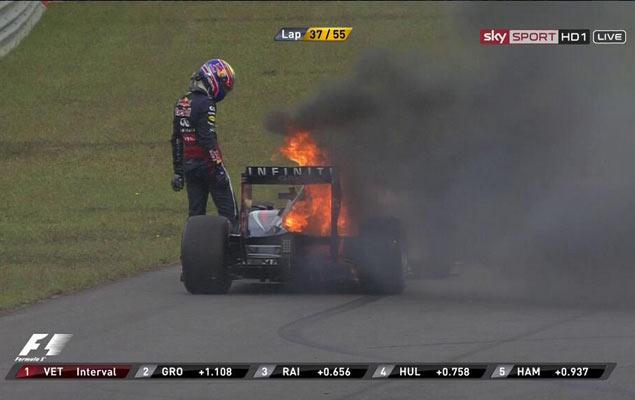 Онлайн-трансляция четырнадцатого этапа Формулы-1 2013 года. Фото 3
