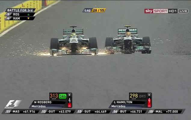 Онлайн-трансляция четырнадцатого этапа Формулы-1 2013 года. Фото 5