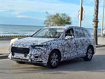 В Сети появились фотографии новой Audi Q7