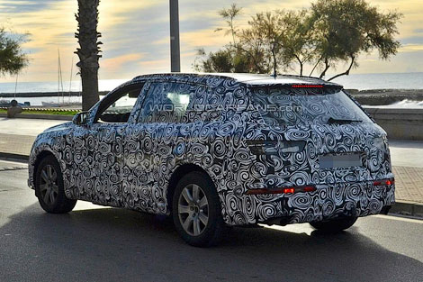 Компания Audi начала испытания следующего Q7