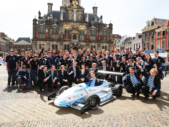 Голландские студенты создали быстрейший в мире электрокар