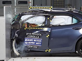 Toyota Corolla провалила американский краш-тест