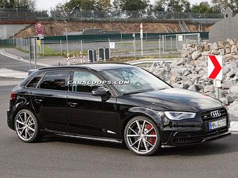 Audi начала испытания самого мощного варианта A3