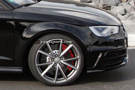 Новый Audi RS3 оснастят 360-сильным мотором 2.5