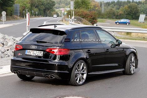 Новый Audi RS3 оснастят 360-сильным мотором 2.5. Фото 1