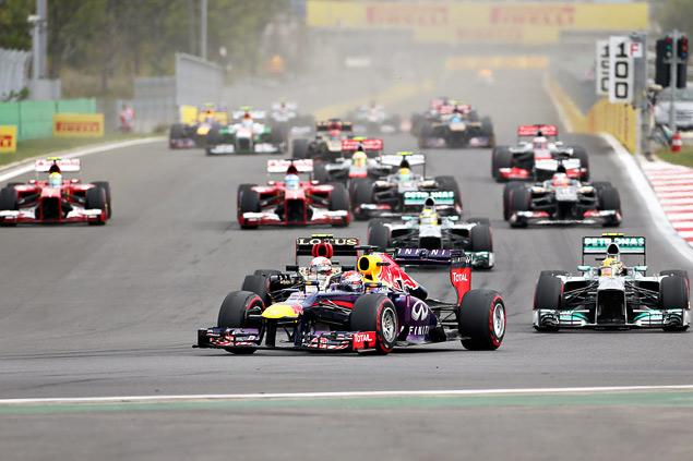 Феттель выиграл четвертую гонку Формулы-1 подряд. Фото 2