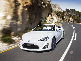 Toyota отложила выпуск кабриолета GT86 на неопределенный срок