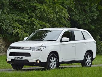 Компания Mitsubishi превратила Outlander в развозной фургон