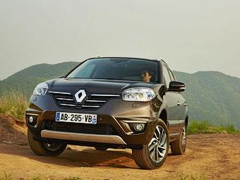 В России появился обновленный Renault Koleos
