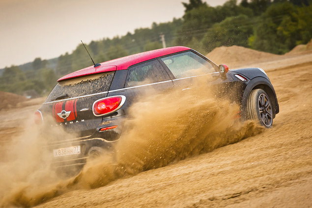 MINI Paceman JCW и Jeep Grand Cherokee: имеют ли спортивные кроссоверы право на существование?. Фото 9