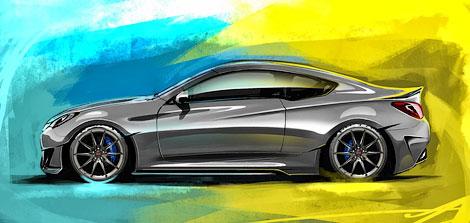 Купе Genesis оснастили новым обвесом кузова и 400-сильным мотором. Фото 1
