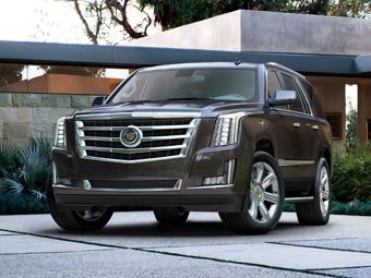 Cadillac представил Escalade четвертого поколения