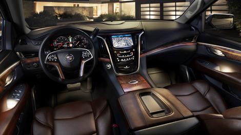 Cadillac Escalade теперь может вместить до восьми человек. Фото 4