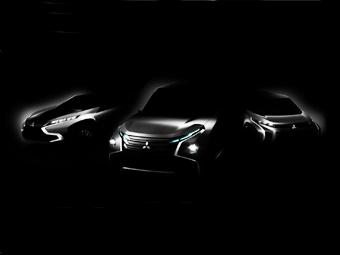 Mitsubishi покажет на трех концептах дизайн новых моделей