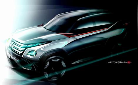 Mitsubishi привезет в Токио два концептуальных кроссовера и компактвэн
