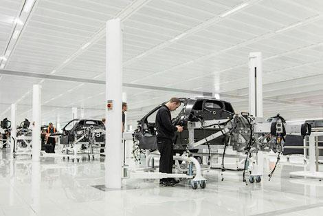 """Каждый день """"Макларен"""" будет производить по одному суперкару P1"""
