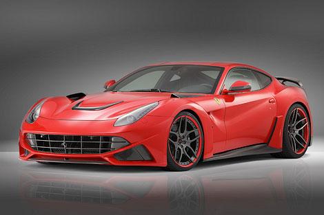 Суперкар Ferrari F12berlinetta сделали шире на 110 миллиметров. Фото 1
