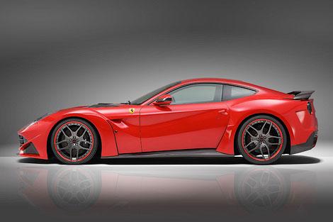 Суперкар Ferrari F12berlinetta сделали шире на 110 миллиметров. Фото 2