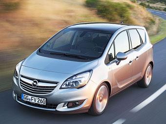 Обновленный Opel Meriva оснастили новым дизелем