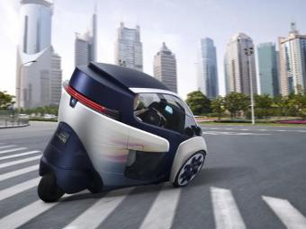 Toyоta запустит в серию трехколесный электрокар