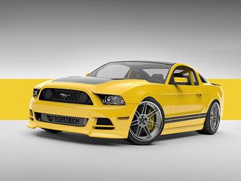 Ford построил для тюнинг-шоу Mustang с компрессорным мотором