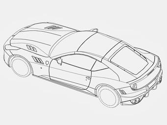 В Сеть попали изображения Ferrari FF с новым кузовом