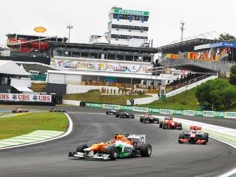 Гран-при Бразилии останется в Сан-Паулу до 2020 года