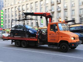 Москва назвала дату начала SMS-рассылки об эвакуации машин