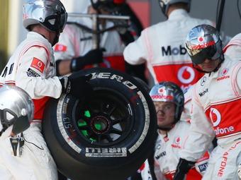 Шинные тесты команды McLaren перенесут из США в Италию