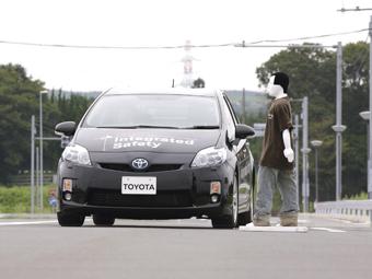 Toyota научила машины объезжать пешеходов