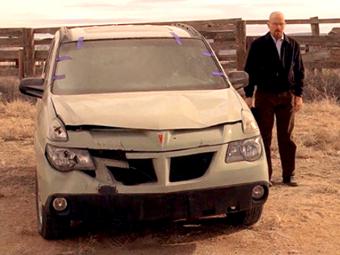 """Девять машин из сериала """"Во все тяжкие"""" ушли с молотка"""