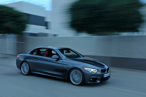 Кабриолет BMW 4-Series получил жесткий складной верх