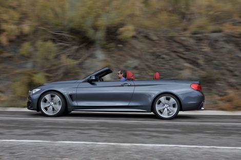 Кабриолет BMW 4-Series получил жесткий складной верх. Фото 1