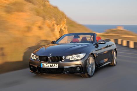 Кабриолет BMW 4-Series получил жесткий складной верх. Фото 2
