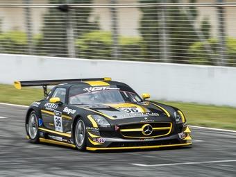 Мика Хаккинен выиграл дебютную гонку Азиатской серии GT