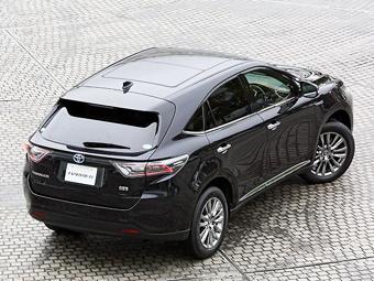 Предтеча нового Lexus RX получила сенсорные клавиши