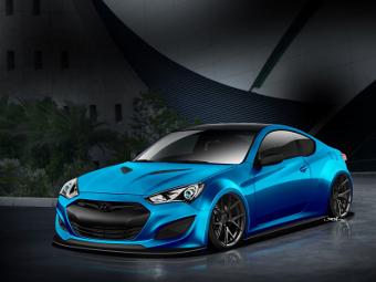 Компания Hyundai построила третий Genesis для Лас-Вегаса