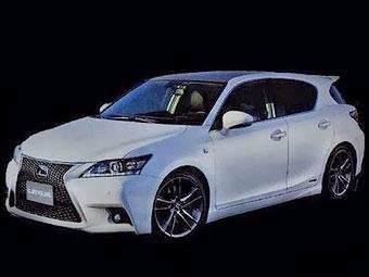 В Сети рассекретили обновленный хэтчбек Lexus