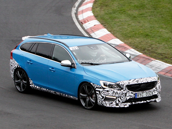 """В модельном ряду Volvo появится """"заряженный"""" универсал"""