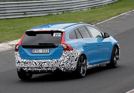 """Спортивный партнер Volvo подготовит """"горячую"""" версию V60. Фото 1"""