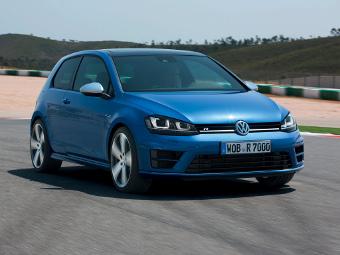 Volkswagen привез в Россию 300-сильный Golf