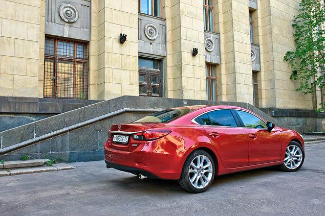 Длительный тест Mazda6: мелочи жизни и стоимость владения. Фото 9