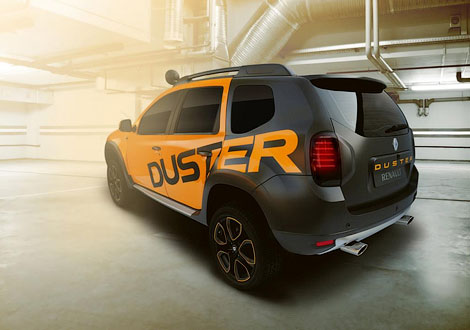 В Йоханнесбурге показали концептуальный вариант модели Duster