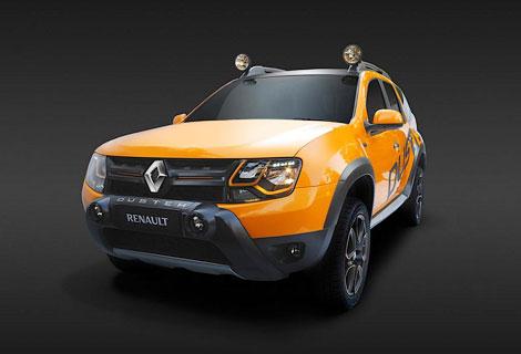 В Йоханнесбурге показали концептуальный вариант модели Duster. Фото 2