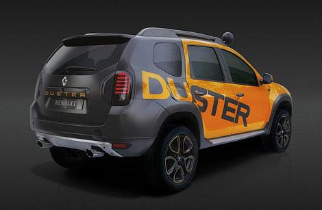 В Йоханнесбурге показали концептуальный вариант модели Duster. Фото 3