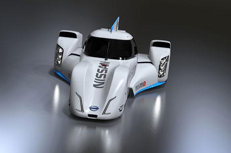 Машина Nissan для класса LMP1 получит переднемоторную компоновку. Фото 1