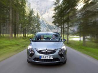 Opel представил самый мощный серийный минивэн