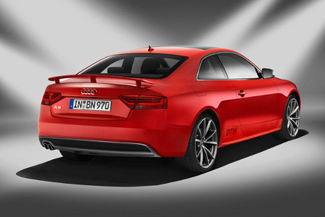 Audi произведет 300 особых купе A5 в честь победы Майка Рокенфеллера