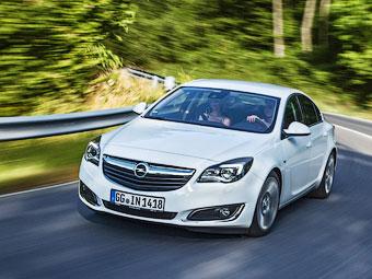 """Opel назвал рублевые цены на обновленную """"Инсигнию"""""""
